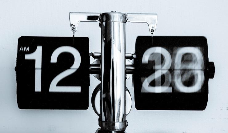 Illustrational image of clock