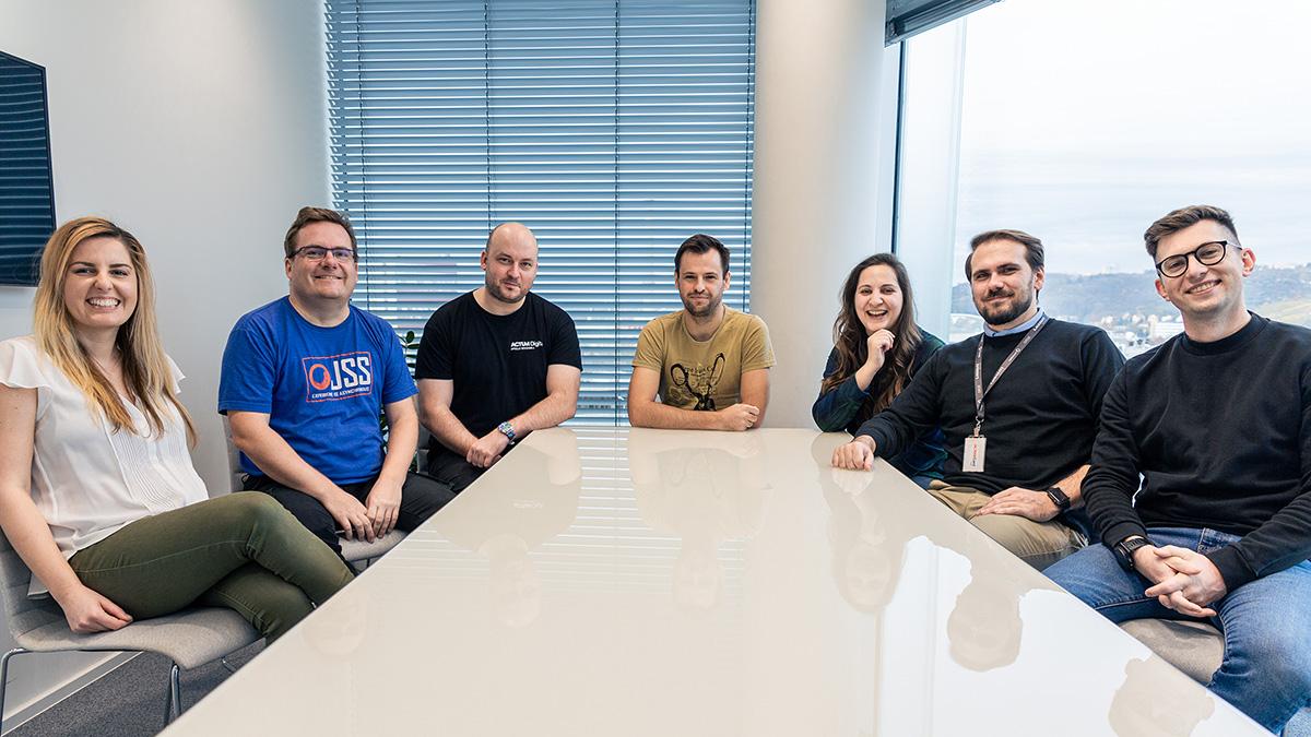 Sitecore solution team at ACTUM Digital